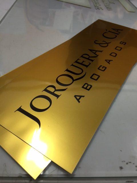placas para oficinas letreros para puertas de oficinas y