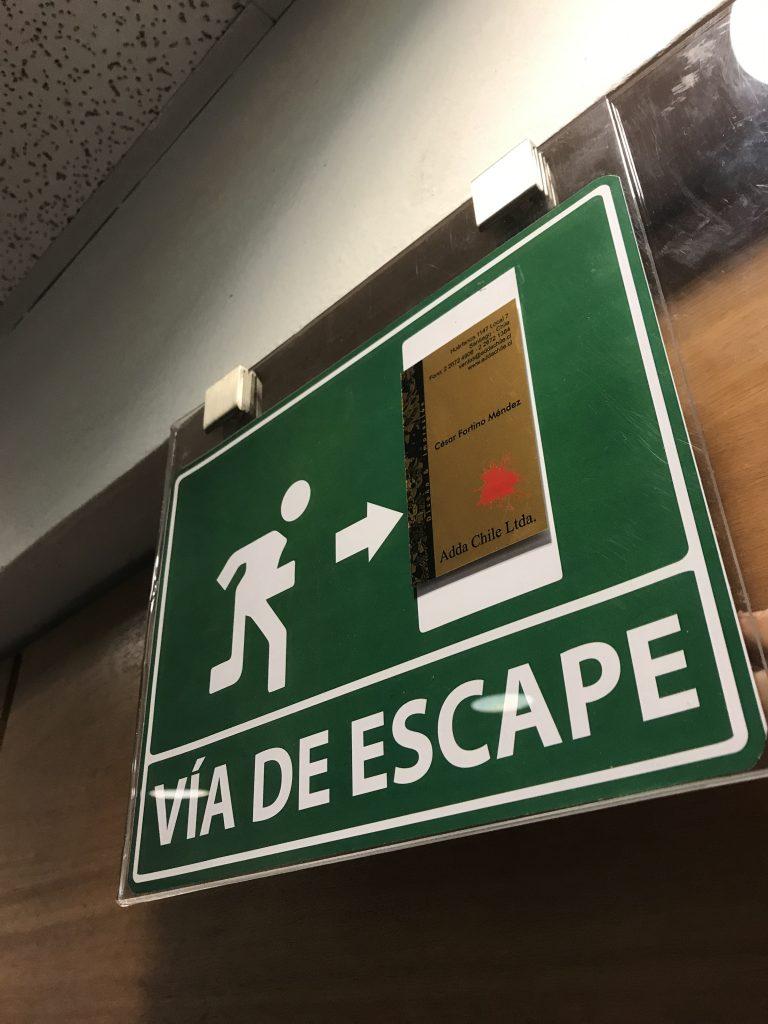 via de escape, evacuacion
